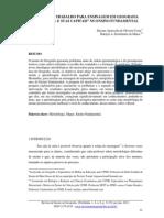 COSTA D (2013) - Projeto de Trabalho Para Ensinagem Em Geografia