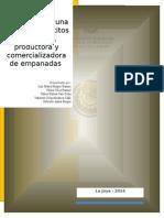 Perfil de Proyecto Empanadas
