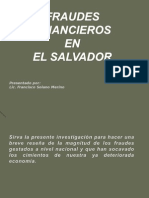 Fraudes Financieros en Elsalvador