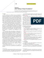 9Standard Test Method for High-Strain Dynamic Testing of Deep Foundations