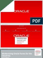 Modernize OracleForms