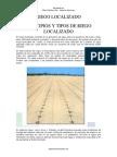Riego Localizado - Canales de Riego - Irrigación