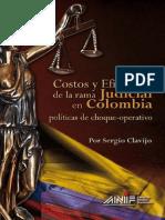 Costos y eficacia de la rama Judicial Colombiana