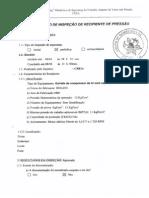 Modelo de Relatório de Inspeção - Vaso de Pressão