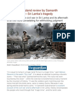 This Divided Island Review by Samanth Subramanian – Sri Lanka's Tragedy