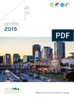 Downtown Long Beach Economic Profile 2015