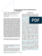 Menstrual Cycle Effects on Selective Attention and ITS