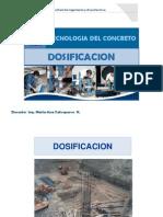 Tecnologia Del Concreto - Dosificacion