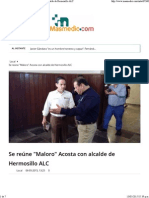 06-05-15 Se Reúne Maloro Acosta Con Alcalde de Hermosillo ALC