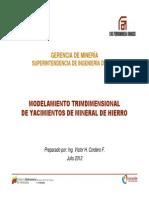 Inmi-i-0019-12- Modelamiento Tridimensional de Yacimientos de Mineral de Hierro