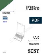 VPCEB Series Service Manual