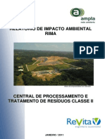 Rima Central de Processamento e Tratamento de Residuos Class e II Cptr Marituba