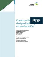 Construccion de Desigualdad de Genero en la  Educacion -Mar15