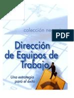 Direccion de Equipos de Trabajo