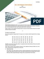 02. Modul - Tabel Distribusi Frekuensi