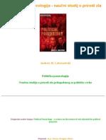 Lobaczewski - Politicka Ponerologija - Naucni Studij o Prirodi Zla