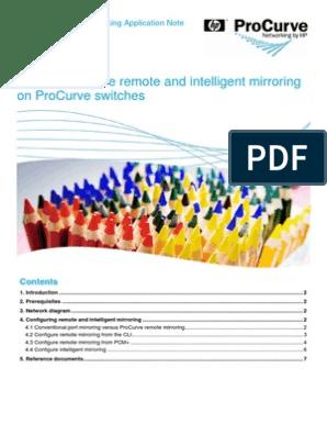 Port Mirror Hp Procurve | Port (Computer Networking