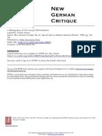 01. Strum, Arthur (1994). A Bibliography of the Concept Offentlichkeit. New German Critique.