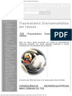 Traumatismo Cranioencefálico Em Idosos - Márcio Candiani - Psiquiatra Belo Horiz