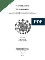 osteoarthritis radiologi