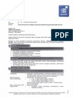 Surat Penawaran Fasilitas Employee Benefit Program Bank BRI Syariah