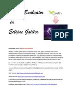 XPath in Eclipse