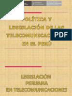 Legislación de Las Telecomunicaciones