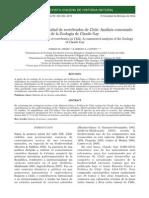 Ecología y Biodiversidad de Vertebrados de Chile .- Análisis Comentado de La Zoologia de Claude Gay
