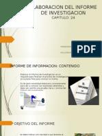 Elaboracion Del Informe de Investigacion