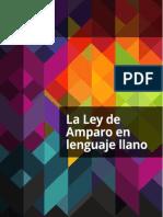 Ley de Amparo Lenguaje Llano Imprimir