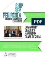 leadership monterey peninsula community leaders handbook