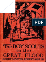 The Boy Scouts in the Great Flood by Robert Shaler