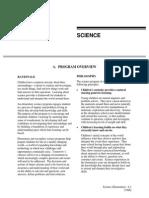elementary science program of studies
