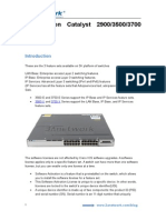 License on Cisco Catalyst 2900 3500 and 3700 Switches - 3Anetwork