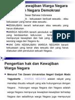 Materi Hak Dan Kewajiban WN