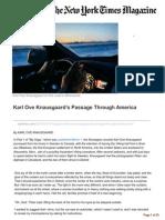 Karl Ove Knausgaards Passage Through America Part 2