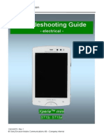 Sony Ericsson ST15 Xperia Mini Trоubleshooting Guide - Electrical Rev1
