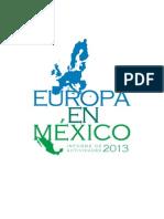 Relaciones Europa - Mexico