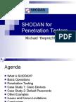 SHODAN for Penetration Testers