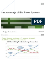 The Advantage of IBM Power Systems.ppt