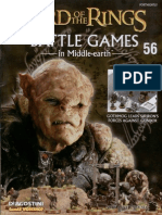 Lord of the Rings Battlegames in Middle Earth Issue 56