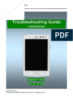 Sony Ericsson ST15 Xperia Mini Troubleshooting Guide - Mechanical Rev3