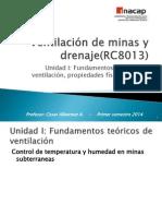 12.0.- Ventilacion de Minas y Drenaje