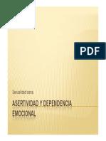 Asertividad y Dependencia Emocional PDF