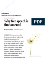 Why Free Speech is Fundamental - Opinion - The Boston Globe
