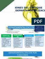"""Departamentalizaciã""""n"""
