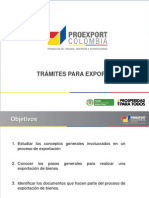Tramites Para Exportar
