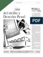 Prevención Del Delito y Derecho Penal