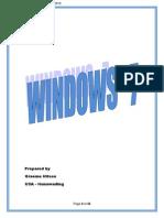 windows 7 notes