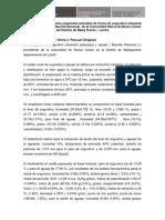 Caracterizacion de Aceites Especiales de Frutos de Ungurahui y Aguaje de La Comunidad Nativa de Nuevo Canan Del Distrito de Blasa Puerto-Loreto